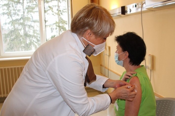 Impfaktion in Paracelsus-Klinik