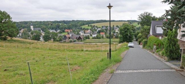 Am Rathausweg soll ein neues Wohngebiet entstehen. Die Nachfrage ist groß, sagt der Investor.