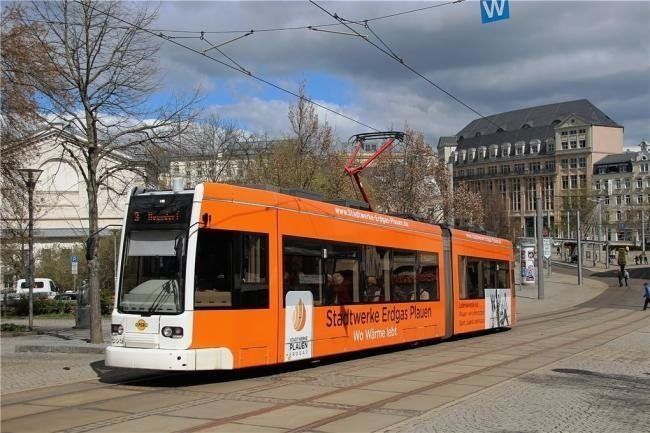 Die Plauener Straßenbahnen werden ab kommender Woche von Montag bis Freitag bereits nach dem Ferienfahrplan fahren.
