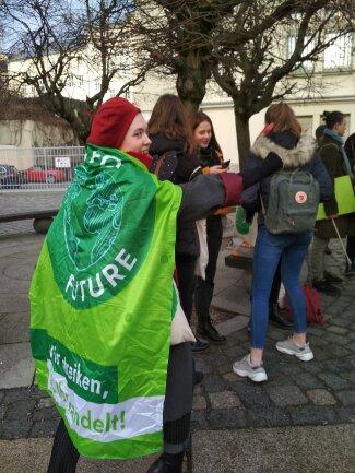 Superkräfte für grüne Themen aktiviert die Plauener Schülerin Jelena Wardezki.