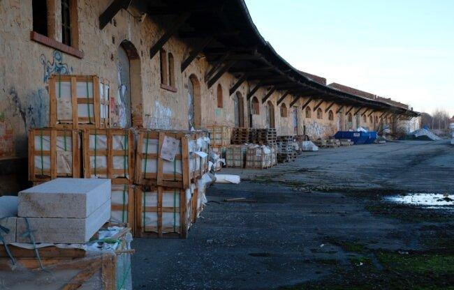 Die Gebäude des ehemaligen Güterbahnhofs in Reichenbach sollen einem Kältekompetenzzentrum weichen.