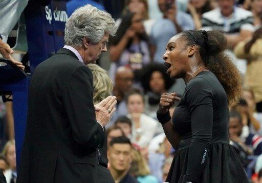 Serena Williams verliert die Nerven