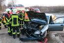 Auf dem Autobahnzubringer zwischen Alberoda und der A 72 ist es zu einem Unfall gekommen.