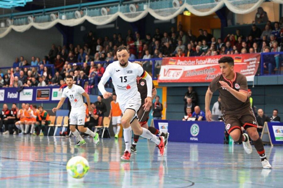 Die Deutsche Meisterschaft 2019 in Hohenstein-Ernstthal (Foto aus der Partie des VfL gegen St. Pauli) bot einen Vorgeschmack auf das, was es künftig auch in der Futsal-Bundesliga regelmäßig geben soll. Tolle Spiele und - wenn es die Pandemie-Situation wieder zulässt - viele Zuschauer.