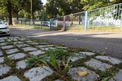 Der Turnerweg wartet weiter auf eine Sanierung.