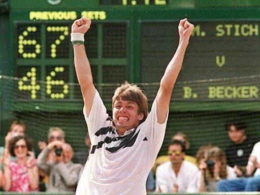 Michael Stich besiegte Boris Becker im Wimbledon-Finale