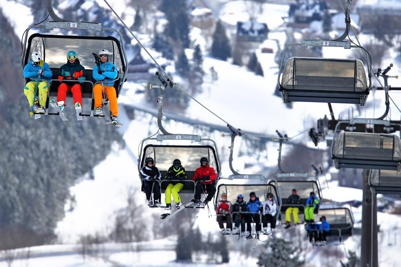 Sachsens Skigebiete erwarten Besucheransturm am Wochenende