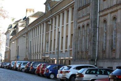 Nach dem Verkauf soll die stadtbildprägende Palla-Brache in Glauchau saniert werden.