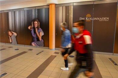 Die große, seit langem leerstehende Fläche im Plauener Einkaufszentrum Die Kolonnaden hat einen neuen Mieter gefunden.