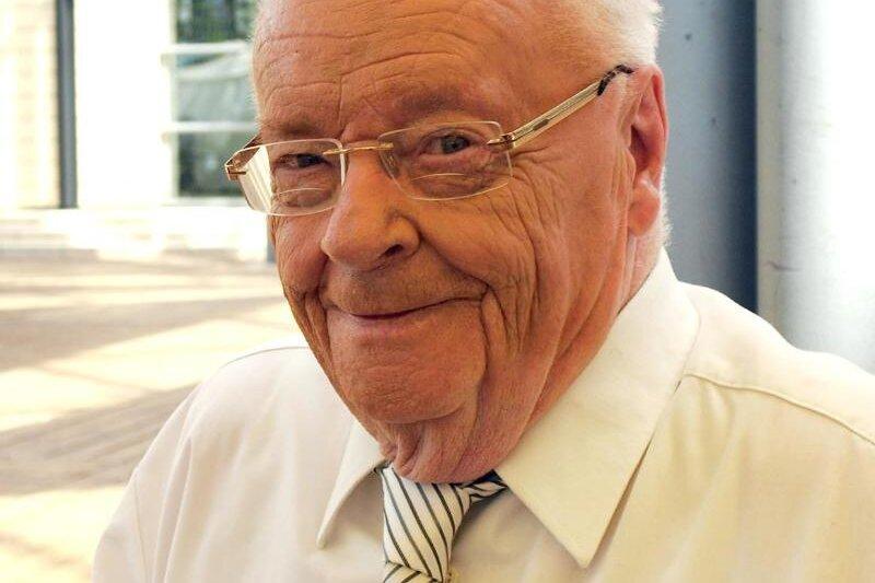 Manfred Uhlig starb im Alter von 91 Jahren.
