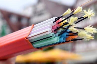 Für rund zehn Millionen Euro soll ein 70 Kilometer langes Glasfasernetz für das schnelle Internet in den Ortsteilen entstehen.