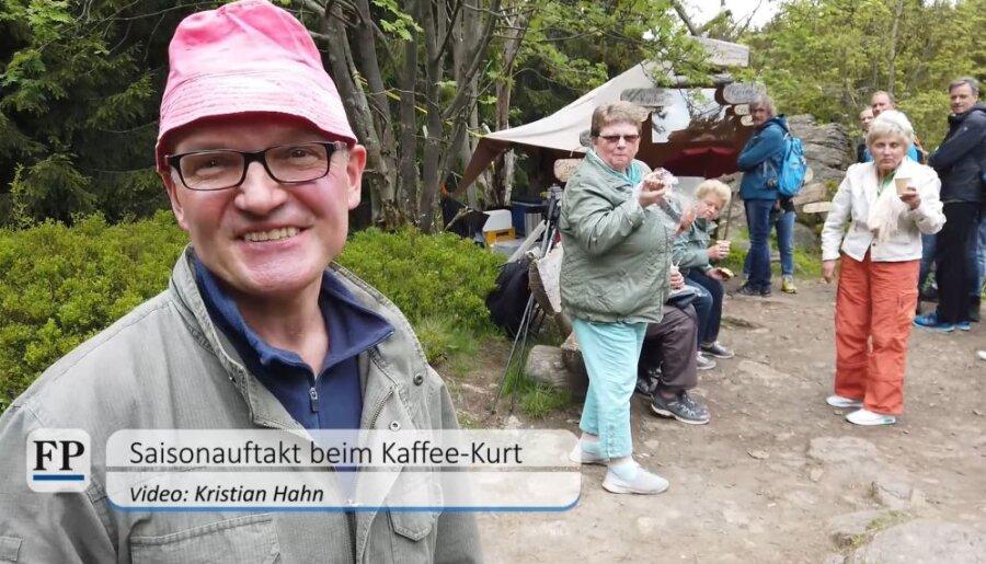 Kaffee-Kurt startet mit Kaffee und Kwas in die neue Saison im Schwarzwassertal