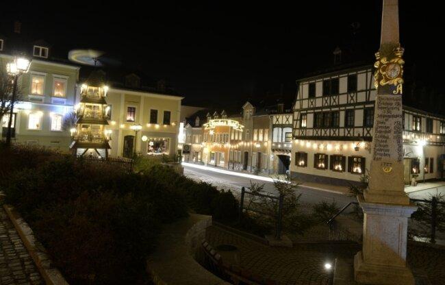 """In Zwönitz heißt es traditionell am Abend des 2. Februar: """"Licht aus!"""". Dieses Jahr allerdings ohne Besuchermassen."""