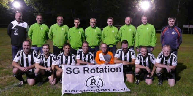 Die Altherren- und Freizeit-Mannschaft der SG Rotation Borstendorf geht auch weiterhin auf Torejagd.