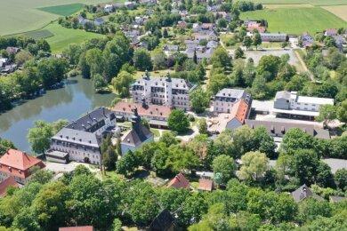 Das Deutsche Landwirtschaftsmuseum (Bildmitte) aus der Luft gesehen. Foto: Mario Dudacy