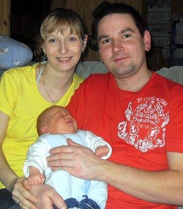 """<p class=""""artikelinhalt"""">Samuel ist das erste neugeborene Baby des Jahres in Hainichen und das dritte Kind von Sabine und Martin Teuchert. </p>"""