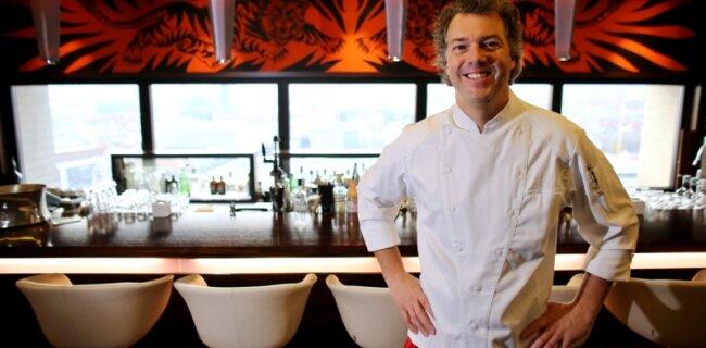 """Konnte seine zwei Sterne im neuen Restaurantführer verteidigen: Peter Maria Schnurr, Küchenchef im Restaurant """"Falco"""" in Leipzig."""
