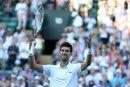 Djokovic folgt Nadal in Wimbledon in die dritte Runde