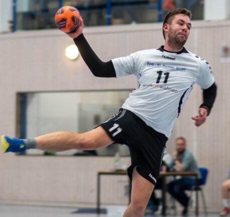 Fortschritt-Spieler Kay Schröder, der zuletzt gegen den HV Oederan neun Tore erzielte, will gegen Niederwiesa nachlegen.