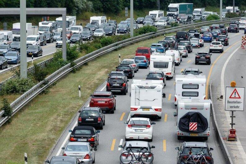 Baustellen auf Mitteldeutschlands Autobahnen: Hier droht im Reiseverkehr der Stau