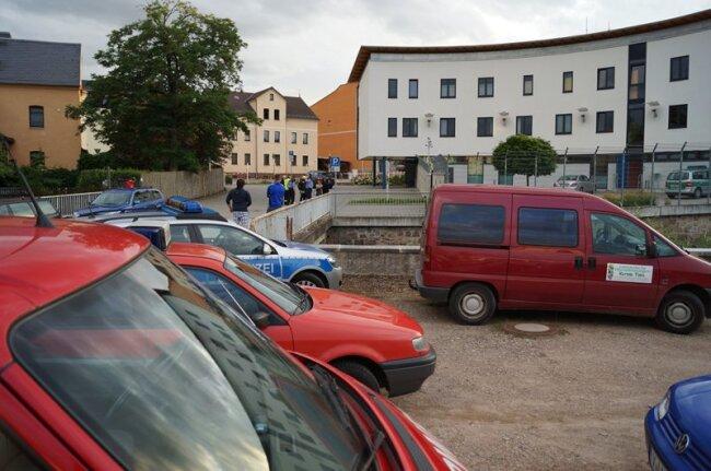Im Polizeiposten Wilkau-Haßlau wurde am Donnerstag Anthrax-Alarm ausgelöst.