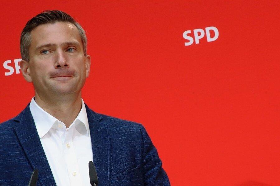 Sachsens SPD-Chef Martin Dulig. Auf gerade einmal 7,7 Prozent kam die Partei bei den Landtagswahlen im Spätsommer vor zwei Jahren - schlechter war sie nie.