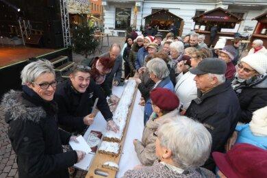 Die Stadt Meerane sagt den Weihnachtsmarkt am Teichplatz ab.
