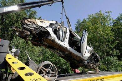 Am 16. August 2020 ereignete sich auf der A4 bei Siebenlehn der tödliche Unfall.