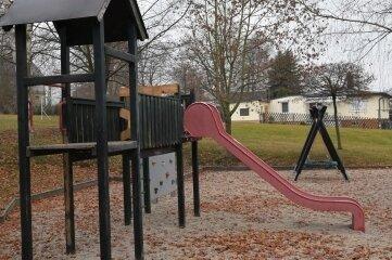 Der Spielplatz in Ursprung bekommt eine Frischekur.