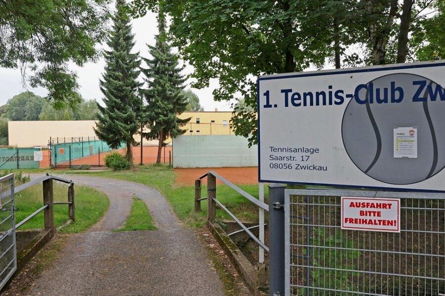 Die Tage der Tennisanlage an der Saarstraße in Zwickau sind gezählt.