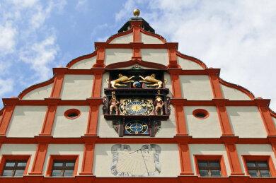 Das Alte Rathaus in Plauen.