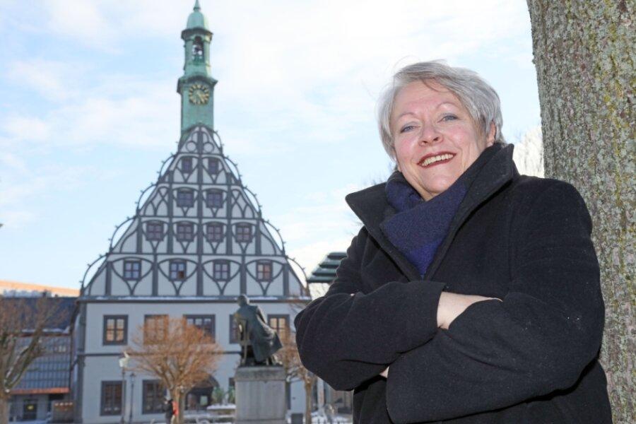 Mit der Sanierung des Gewandhauses verabschiedet sich Steffi Haupt in den Ruhestand.