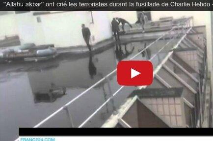 Videos: Anschlag auf Satiremagazin Charlie Hebdo