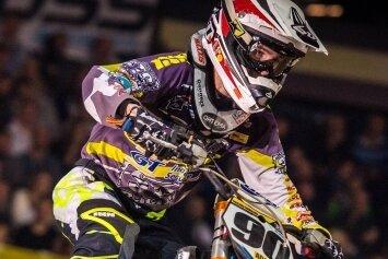 Justin Trache erlebte in Stuttgart eine Schrecksekunde.