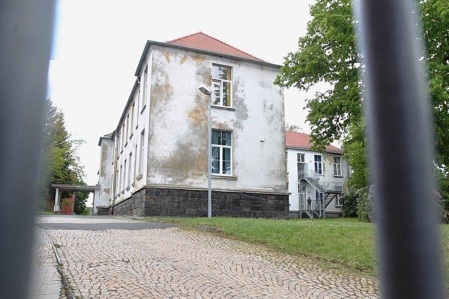 Das Asylbewerberheim in Plauen: Dort gab es seit 1. März ein Dutzend Brände.
