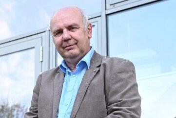 Volker Schneider. Der 61-Jährige ist seit 1984 Lehrer, seit 1999 am Gymnasium in Stollberg.