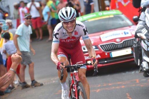 Martin bestreitete den Giro zuletzt 2008