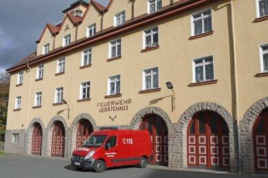 Die Tage des Feuerwehrgerätehauses an der Sankt-Florian-Straße in Werdau sind gezählt.