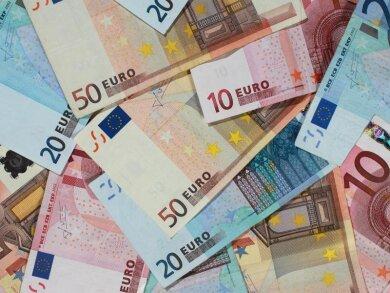 Euro-Banknoten.