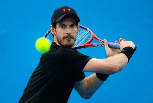 Wieder am Ball: Andy Murray nach seiner Hüft-OP