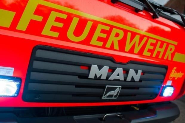 Scheune brennt in Pausa-Mühltroff nieder