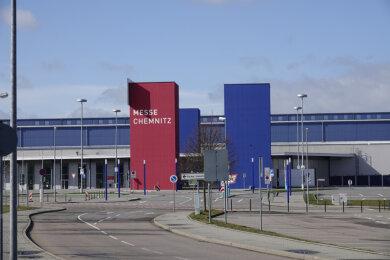 Die Ambulanz wurde im März in der Messe Chemnitz eingerichtet.