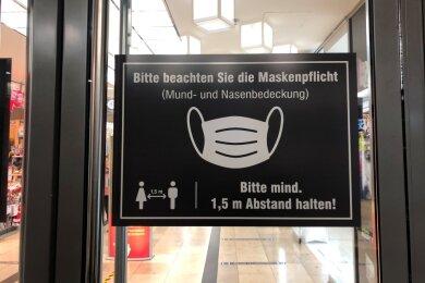 Im Landkreis Zwickau dürfen Einzelhändler ab Dienstag keine Termine zum Shopping mehr vergeben.