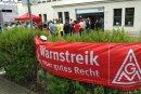 Erstmals gab es bei der Entwicklungsfirma IAV in Chemnitz am Mittwoch einen Warnstreik.