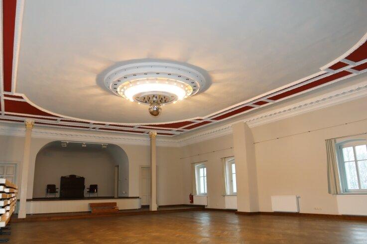Der Saal des Lindenhofs wurde im Zuge der Sanierungsmaßnahmen auf Vordermann gebracht.