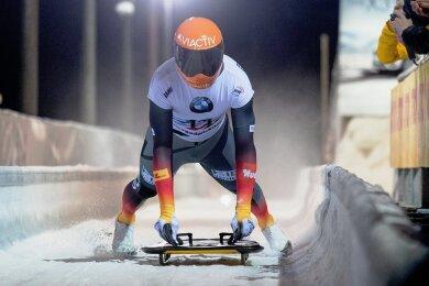 Seit 2008 rast Axel Jungk auf seinem Skeleton die Bahnen hinunter, seit 2014 ist er im Weltcup unterwegs. Für die Rennen des kommenden Winters ist der 29 Jahre alte gebürtige Zschopauer nicht nominiert.