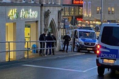 Einen abendlichen Polizeieinsatz hat es am Dienstag im Bereich Hradschin/ Forststraße gegeben.