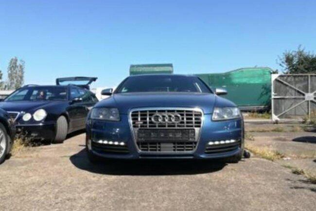 Mit diesem Audi S6 sollen die Täter geflüchtet sein.