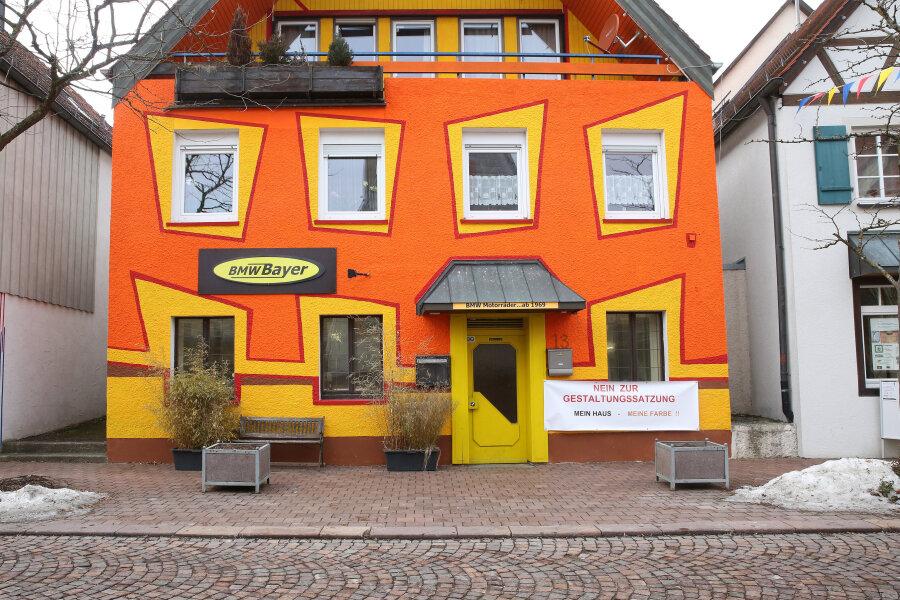 Das bunte Haus von Hayingen.