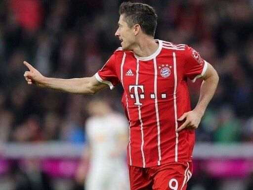 Lewandowski erzielte den zweiten Treffer der Bayern